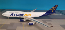 JF-747-4-007 | JFox Models 1:200 | Boeing 747-400 Atlas Air N464MC (with stand)