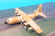 JF-C130-015 | JFox Models 1:200 | C-130H-30 (L-382) Hercules Iran AF 5-8544 (with stand)