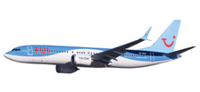 611961 | Herpa Snap-Fit (Wooster) 1:200 | Boeing 737-800MAX TUIfly Belgium OO-MAX | is due: July/August 2018