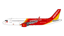 G2VJC711 | Gemini200 1:200 | Airbus A320-200S VietJet Air.com VN-A671 (with stand) | is due: May 2018