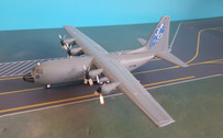 JF-C130-010 | JFox Models 1:200 | C-130 Hercules French AF 4588 61-PM (with stand)