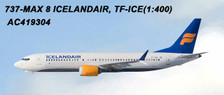 AC419304 | Aero Classics 1:400 | Boeing 737 MAX 8 Icelandair TF-ICE | is due: June 2018
