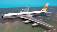 B-704-LH-001P | Blue Box 1:200 | Boeing 707-400 Lufthansa D-ABOF (polished, with stand)
