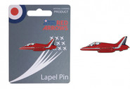 RA34F | Gifts | Red Arrows Enamel  Lapel Pin - Hawk