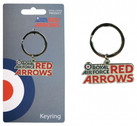 RA33D | Gifts | Red Arrows Enamel Keyring - Red Arrow Logo