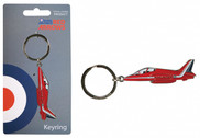 RA33E | Gifts | Red Arrows Enamel Keyring - Hawk