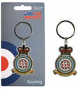 RA33A | Gifts | Red Arrows Enamel Keyring - Squadron Crest