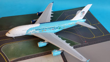 EW2388004 | JC Wings 1:200 | Airbus A380 Hi Fly 9H-MIP, 'Save the Coral Reefs' (with stand)