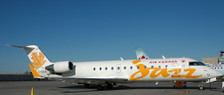 LH2191   JC Wings 1:200   Bombardier CRJ200LR Air Canada Jazz C-GGJA, 'Yellow' (with stand)   is due: August 2018