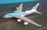 EW4388003   JC Wings 1:400   Airbus A380 ANA JA382A, 'Flying Honu, Kai'