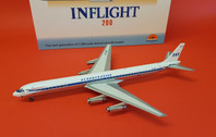 IFDC8630418P | InFlight200 1:200 | DC-8-63 SAS Scandinavian LN-MOY (polished, with stand)