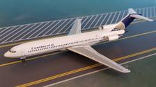 AC419348 | Aero Classics 1:400 | Boeing 727-200 Continental N88715, '90s'