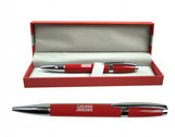 Redslacquerballpen | Gifts | Red Arrows Lacquer Pen in case