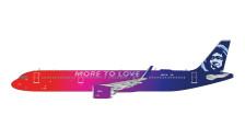 GJASA1776   Gemini Jets 1:400 1:400   Airbus A321neo Alaska N927VA, 'More to Love'