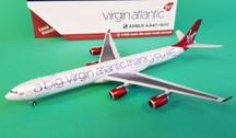 GJVIR1766 | Gemini Jets 1:400 1:400 | Airbus A340-600 Virgin Atlantic G-VNAP, 'a big thank you'