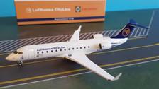 NG51003 | NG Model 1:200 | Bombardier CRJ100ER Lufthansa CityLine C-GVRJ, 'Canadair Logo', Farnborough 1992