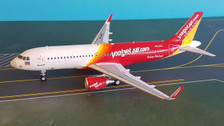 JF-A320-003 | JFox Models 1:200 | Airbus A320 VietJet Thailand HS-VKC (with stand)