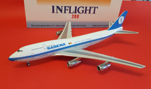 IF743SN1018 | InFlight200 1:200 | Boeing 747-300 SABENA OO-SGD (with stand)
