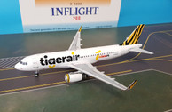 IF320IT001 | InFlight200 1:200 | Airbus A320 Tiger Air B-50001 (with stand)