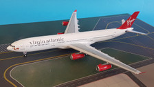 B-340-118 | Blue Box 1:200 | Airbus A340-300 Virgin Atlantic G-VFAR, 'Diana' (with stand)