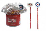 RedsRA03 | Gifts | Red Arrows Pencil and Eraser on top