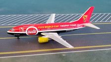 PMGPOWC | Panda Models 1:400 | Boeing 737-300 Titan Airways G-POWC, 'FIFA Trophy Tour' [-]