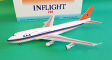 IF743SA1218 | InFlight200 1:200 | Boeing 747-300 South African ZS-SAU (with stand)