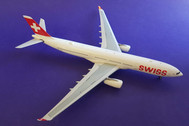 JF-A330-003 | JFox Models 1:200 | Airbus A330-300 Swiss HB-JHA (with stand)