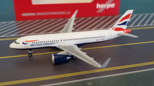 532808 | Herpa Wings 1:500 | Airbus A320neo British Airways G-TTNA