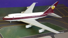 IF747SP0518 | InFlight200 1:200 | Boeing 747SP Qatar Amiri Flight VP-BAT ( with Stand )