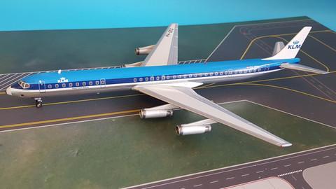 Inflight 200 IFDC8630418P 1//200 SAS DC-8-63 Ln-Moy Poliert mit Ständer