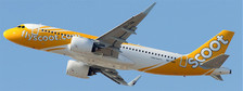 XX4078 | JC Wings 1:400 | Airbus A320neo Scoot 9V-TNA | is due: November 2018