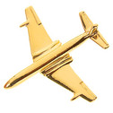 CL400 | Clivedon Collection | Plane Pin 3D - DH Comet (Gold plated, with box)