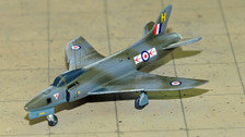 SF442 | SkyFame Models 1:200 | Supermarine Swift Mk.5 79 Squadron RAF XD913