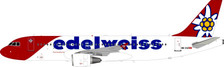 JF-A320-019 | JFox Models 1:200 | Airbus A320-214 Edelweiss HB-IHZ (with stand) | is due: November 2018