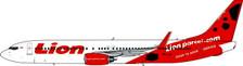 PH11494 | Phoenix 1:400 | Boeing 737- 900ERWL Lion Airlines PK-LJF, 'Lion Parcel.com'