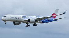 PH04225 | Phoenix 1:400 | Airbus A350-900 China Airlines B-18918, ' Carbon Fibre Livery '| is due: November / December 2018