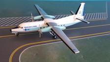 AC219418 | Aero Classics 200 1:200 | Fokker F-27 Quebecair CF-QBA