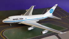 IF747SPPAO119P   InFlight200 1:200   Boeing 747SP Pan Am N533PA,'Ltd 96' (polished, with stand)