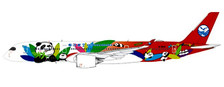 JCKD4101 | JC Wings 1:400 | Airbus A350-900XWB Sichuan Airlines B-301D, 'Panda' (flaps up) | is due: December 2018