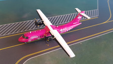 G2SIL762 | Gemini200 1:200 | ATR 42-600 Silver Airways N400SV (with stand)