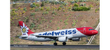 559584 | Herpa Wings 1:200 1:200 | Airbus A320-200 Edelweiss HB-IJU (Plastic) | is duu March / April 2019