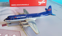 559591 | Herpa Wings 1:200 1:200 | Vickers Viscount 813 British Midland Airways G-AZNA (die-cast)