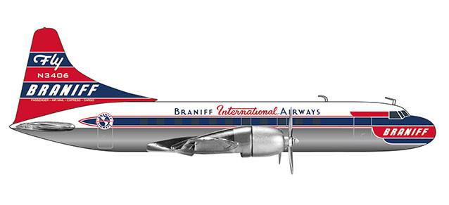 Herpa 559706-1//200 ansett airways Convair cv-340 nuevo