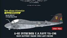 CW001627 | Century Wings 1:72 | A-6E Intruder US Navy NK500, VA-196 Main Battery, 'Last Cruise', 1996