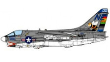 JCW72A7002 | JC Wings Military 1:72 | A-7E Corsair II US Navy VA-113 Stingers USS Ranger 1975