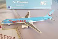 NG58007   NG Model 1:400   Boeing 737-800 Thomsonfly G-CDZI