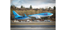 612166 | Herpa Snap-Fit (Wooster) 1:100 | Boeing 737MAX8 TUI Fly Germany | is due: May / June 2009