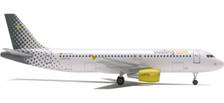 550918 | Herpa Wings 1:200 1:200 | Airbus A320 Vueling EC-IZD (plastic)