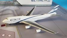 GJELY1810 | Gemini Jets 1:400 1:400 | Boeing 747-400 EL AL 4X-ELB